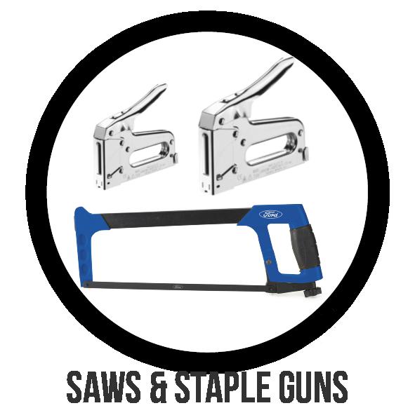 Saws & Staple Guns