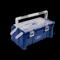 Plastic Tool Box - Removable tray