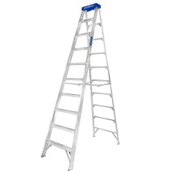 10 Ft. Aluminium Step Ladder for working height up to 14 Ft.