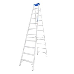 12 Ft. Aluminium Step Ladder for working height up to 15 Ft.