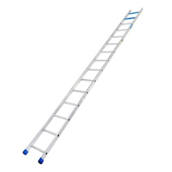 15 Ft. Aluminium Straight Ladder for working height up to 18 Ft.