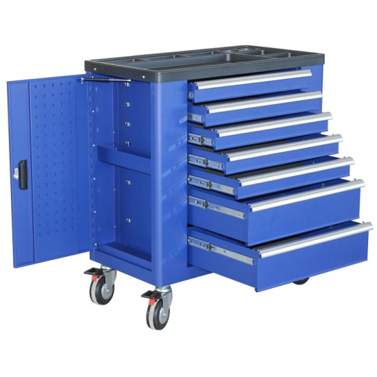 263 Pcs Tool Cabinet with 7 Drawers